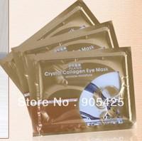 Hot sale !! Crystal Collagen PILATEN Eye Mask Patch anti wrinkle anti aging moisture Eye Mask 20pairs/ Lot  Free shipping