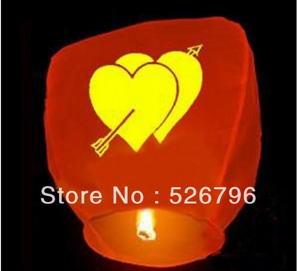 Free Shipping 10pcs/lot OVal-shape Sky Lanterns, Wishing Lamp SKY Chinese Lanterns fire balloon for Birthday Wedding Party(China (Mainland))
