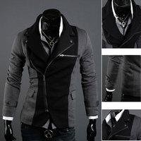 New Top Design Mens Casual Sexy Slim Fit Blazers Coats Suit Jackets 2 Color C