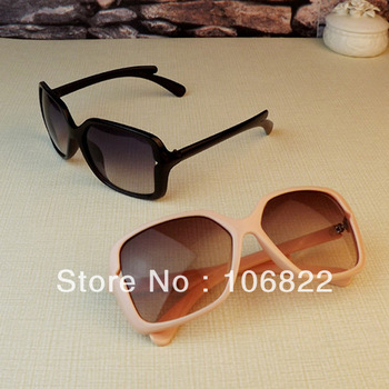 SL00319 Drop shipping&Free shipping Frame Eyeglasses Big Square Retro Designer Oversized Women's Sunglasses