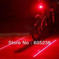 Bicycle Laser Lane Marker / Bike Lane Safety Light Rear Light  Free Shipping