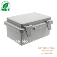 wholesale ip65 waterproof plastic enclosure/case for electronic 5.91*3.94*2.83inch 150*100*72mm