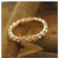 free   shipping  Korean female trendsetter rose gold finger ring  HOT SELL