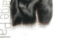 New Arrive #1 JET BLACK 3 way part body wave peruvian hair lace top closure, hair closure piece 4x4, 120 density, queen hair