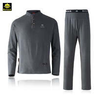 Free Shipping men's outdoors thermal underwear set sports wear set camping hiking clothes Hot-Dry technology surface
