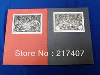 "Free Shipping Dragons Tattoo Flash Sketch Book by Filip Leu Book Vol. I & II   2 pcs/lot New 11*8"""
