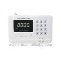 2013 high quality GSM & PSTN battery powered wireless home burglar alarm system