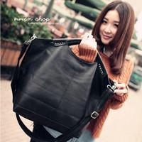 Fashion 2013 women's big bag one shoulder handbag cross-body PU women's handbag rivet bag shopping bag