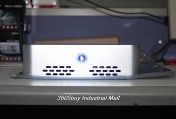 Computer computer case american q6 1u mini computer case aluminum metal shell external wifi aerial itx