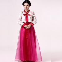 Traditional hanbok  Dae Jang Geum women dance clothes Korean national cosplay costume   Free shipping