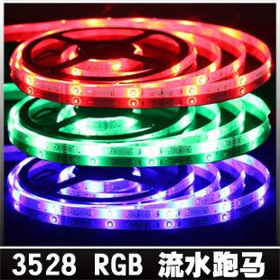 High bright led strip 12v 3528 smd led strip rgb color lights signatureless decoration lamp(China (Mainland))