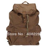 Canvas Vintage DSLR SLR Camera Shoulder Case Backpack Rucksack Bag With Waterproof Rain Cover For Sony Canon Nikon Olympus