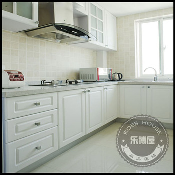 Modular kitchen cabinet kitchen cabinet customize French rustic