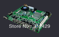 New X-Router Network Firewall Motherboard With 6 Lan ports (1U Motherboard)