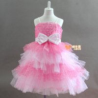 Flower Girl Dresses Sale! Flower girl formal  princess  costume  puff  wedding  dance choral service  children's