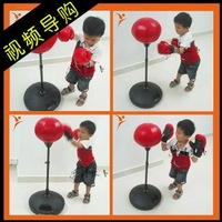 Child boxing ball vertical speed ball boxing gloves vent ball child vertical sandbagged