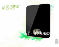 5kg 5000g/0.1g Luxurious Pure Black Platform Kitchen Scales with Digital HouseholdBody Balances Jewelry Box