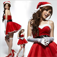 The Christmas dance wear Christmas Fun cosplay costume night portrait DS uniform temptation Bunny