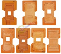 7 in 1 Set Repair Glue Gluing LCD Outer Glass Mould Mold For iPhone/Samsung 7 Holders: N7100,I9220,I9250,i9500,i9300, 4/4s,5G