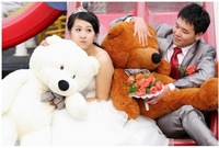 Plush toys large size 140cm / teddy bear 1.4m/big embrace bear doll /lovers/christmas gifts birthday gift
