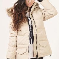 Factory Price New Model Women's Solaris Down Jacket Lady's Winter Coat Goose Down Parka Down Coat XS-XXL 7 Colors