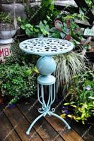 Garden decoration fashion retro royal rustic finishing iron flower stand