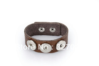FREE SHIPPING The first layer leather Noosa bracelet with noosa chunks most popular products of the best leather quality NSFL141