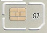Dual sim adapter&  card pin & a blank card number one, the empty card no. & the empty card numberGSM - blank card