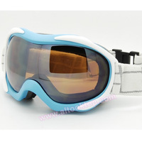 2013 New snow ski goggles double layer anti-fog skiing glasses 10 colors Men Women day night vision Snowboard googles christmas