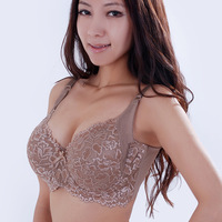 2014 New Arrival Large Size Bra Women Underwear Bra 36C-48F Ultra Wide Flank Side Big Cup Bra, free shipping
