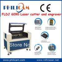 Factory price!PHILICAM FLDJ 6090 best laser engraver cutter/Alphabet letter laser engraving machinery