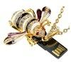 High quality Cute jewelry Adorable Jewelry Bee Model 1GB 2GB 4GB 8GB 16GB 32GB USB 2.0 Flash Memory Stick Drive Thumb/Car/Pen