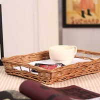 7 brief personalized willow storage tray magazine basket teaberries storage basket a0025