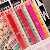 free shipping 10pcs Light color onrabbit jam lip balm lipstick