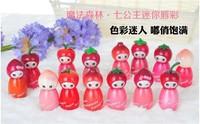 free shipping 12pcs Make-up magic forest mini lip gloss 14