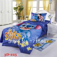 New arrival 100% COTTON 3D bedding sets,queen& tiwn size children bedding duvet cover set,bed sheet,pillow cover