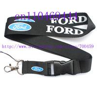 Wholesale  Hot 30pcs Ford Fox Car Logo Cell PHONE LANYARD KEYS ID NECK STRAPS