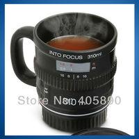 3pcs/lot Into Focus Camera Lens Coffee Mug Ceramic Lens Cup for Photographers
