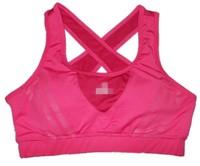 Summer Woman Brief Fashion Sports Casual Half-length Vest Fitness Yoga Running Tennis Ball Vest