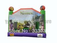 High quality MINI Shrek jumper house inflatable moonwalk  bouncy castle