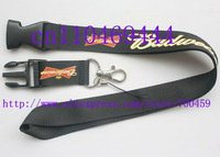 Wholesale  Hot 30pcs New 10 pcs Drink Budweiser Logo Style Neck Lanyard with Clip Key ID phone Chain *Free shipping*