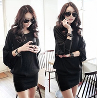 NEW2014 autumn and winter new arrival women's loose plus