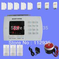 Wireless PSTN Home House Security Burglar Alarm System Autodial Dialer 99 Zones