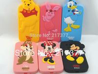 New 3D Cute BP Winnie Pig Mickey Minne Duck Chipmunk Silicone Soft Case For Samsung Galaxy Grand Duos i9082 Free Shipping