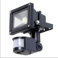 Waterproof IP65 30w/50w  indoor/outdoor PIR led floodlight