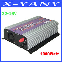 1000W (DC22-60V) Grid Tie Solar Power Inverter, AC90~130V/AC190~260V Output, PV Inverter with CE&RoHS Approved, Free Shipping