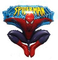 Free Shipping Super Spideman Foil Balloon SuperMan Balloon Helium Christmas Festival