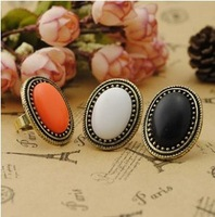 The order of at least $10(mixed order) D002 Lovely oval Cocktail Ring free shipping