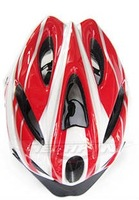 Cycling Bike Accessories Bicycle super light and soft with 18 holes mountain bike helmet  red