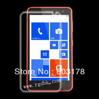 For Nokia Lumia 625, 100pcs/lot clear screen protector without retail package